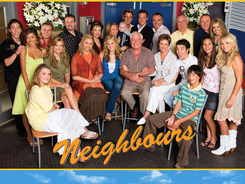 It is the 30th Anniversary of Neighbours and God Will Not Pity Us: Friday Night